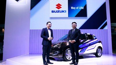 สัมภาษณ์ ซูซูกิ ที่งาน Motor Show 2021 ในรายการ BTimes